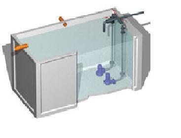 Impianto di sollevamento acque reflue frusta per for Depuratore acque nere domestiche